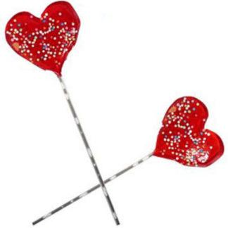 Piruleta Corazón Mini decorado (unidad)