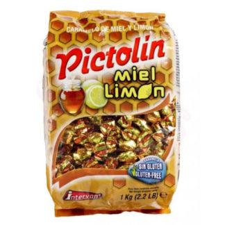 Caramelo PICTOLIN sabor MIEL Y LIMON