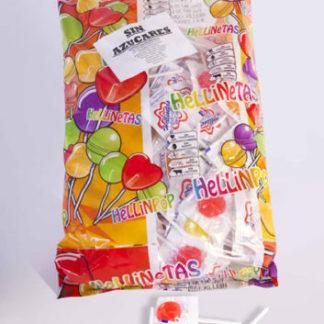 Piruleta HELLINETAS sin azúcar