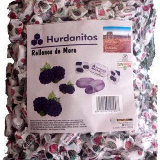 Caramelo HURDANITOS relleno de MORA