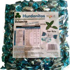 Caramelo HURDANITOS Balsamitos sabor MELISA sin azúcar