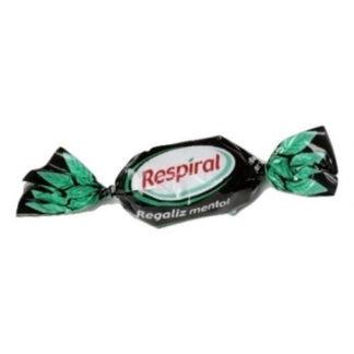 Caramelo balsámico RESPIRAL sabor REGALIZ