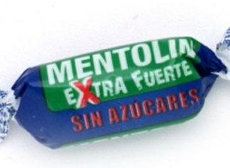 Caramelo MENTOLIN MENTA EXTRA FUERTE sin azúcar