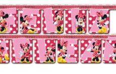 Guirnalda Feliz Cumpleaños Minnie