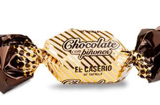 Caramelos Chocolate con Piñones - El caserío de tafalla