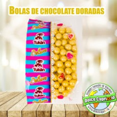 BOLAS CHOCOLATE DORADAS