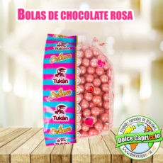BOLAS CHOCOLATE ROSA