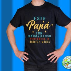 Camiseta Este papá tan maravilloso