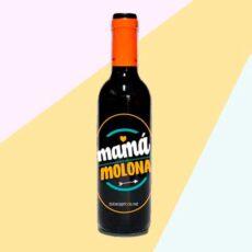 Botella de vino mamá molona