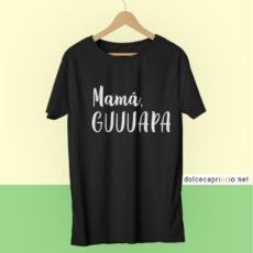 Camiseta Mamá guapa Negra
