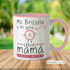 Taza – Mamá eres mi brújula y mi guía