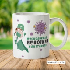 Taza - Heroinas enfermeras