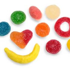 Goma Mix fiesta azucar 1 kg.