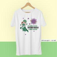 Camiseta - Heroinas enfermeras