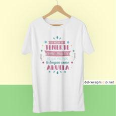 Camiseta Lo mejor de tenerte como madre Blanca