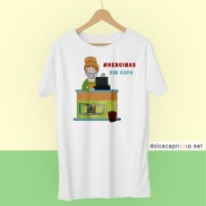 Camiseta - Supermercado Heroinas sin capa Coronavirus