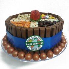 tarta de chocolate kitkat