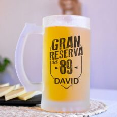 Jarra de cerveza personal con nombreizada